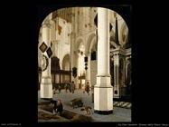 Van Vliet, Hendrick Cornelisz Interno della nieuwe kerk