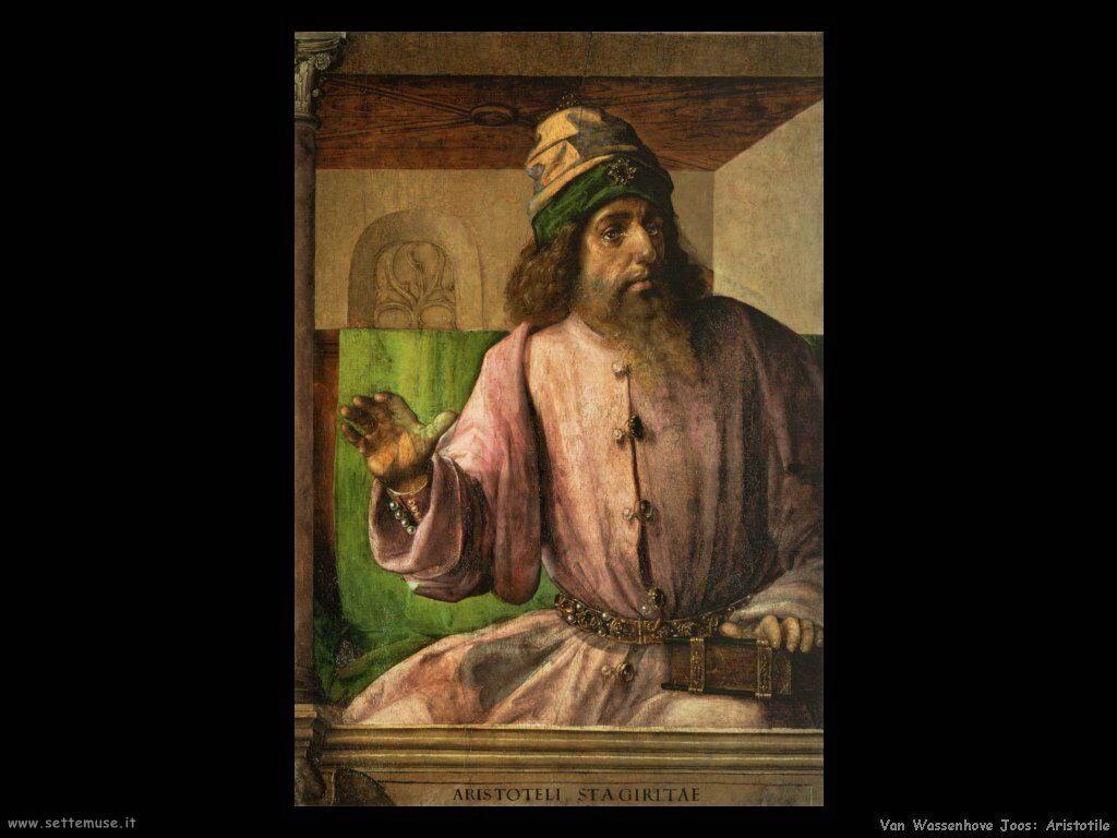 Van Wassenhove, Joos Aristotele