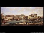 Vista di Napoli Van Wittel Andriaans Caspar
