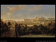 Roma vista di San Pietro Van Wittel Andriaans Caspar