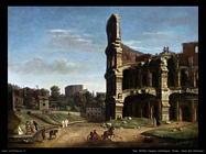 Roma vista del Colosseo Van Wittel Andriaans Caspar