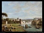 Verona. Una riva dell'Adige Van Wittel Andriaans Caspar
