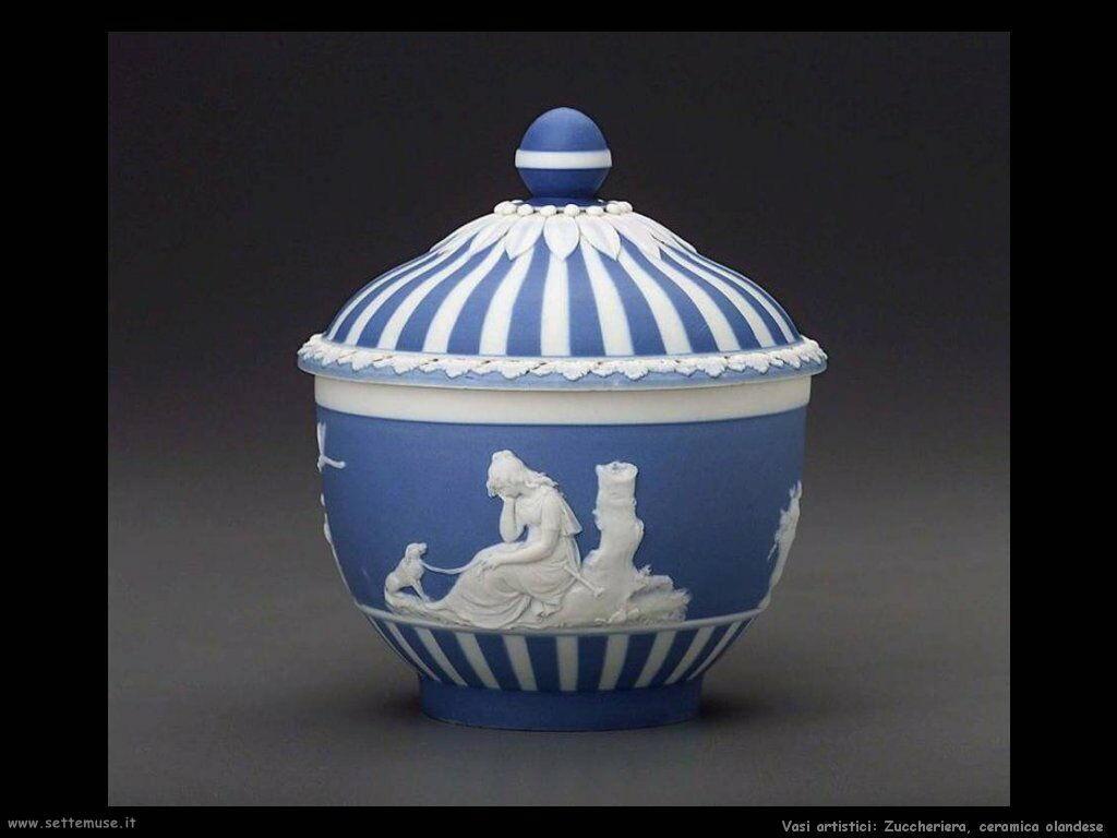 Zuccheriera, ceramica olandese