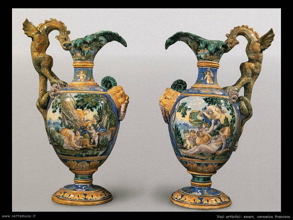 Ewers, ceramica francese