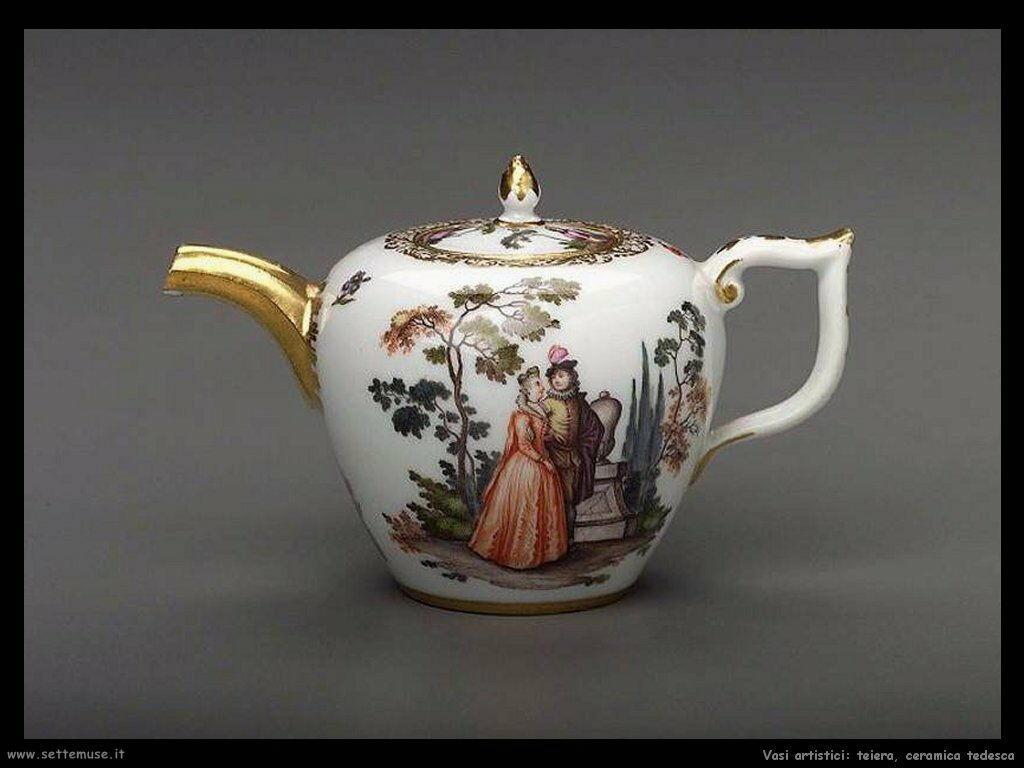 Teiera in ceramica tedesca