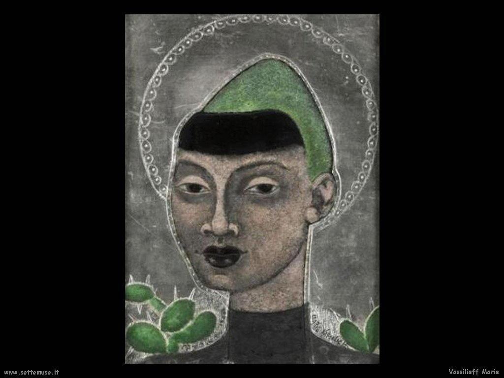 Ritratto d'uomo (1948) Vassilieff Marie