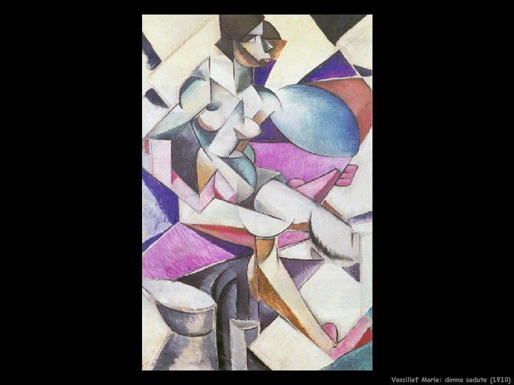 Donna seduta (1910) Vassilieff Marie