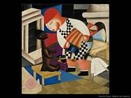 Bambina con bambola (1920) Vassilieff Marie