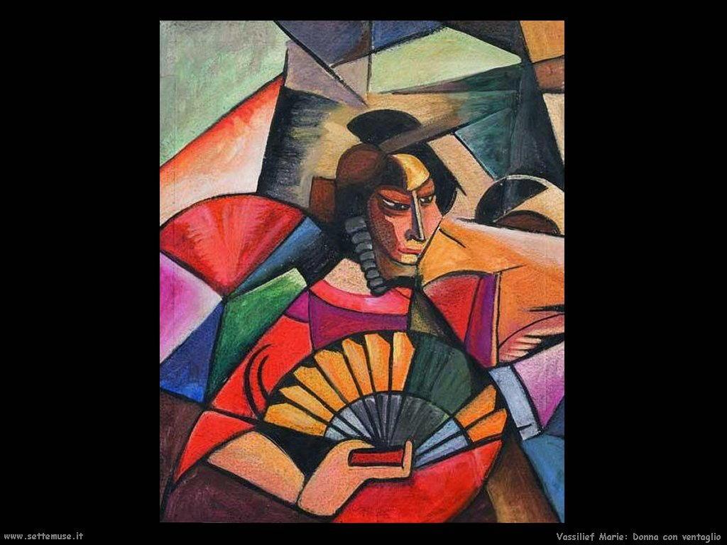Donna con ventaglio Vassilieff Marie