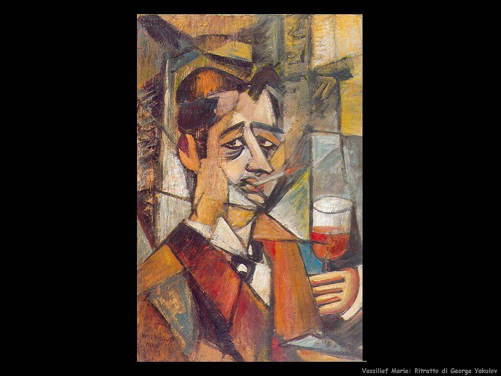 Ritratto di George Yakulov Vassilieff Marie