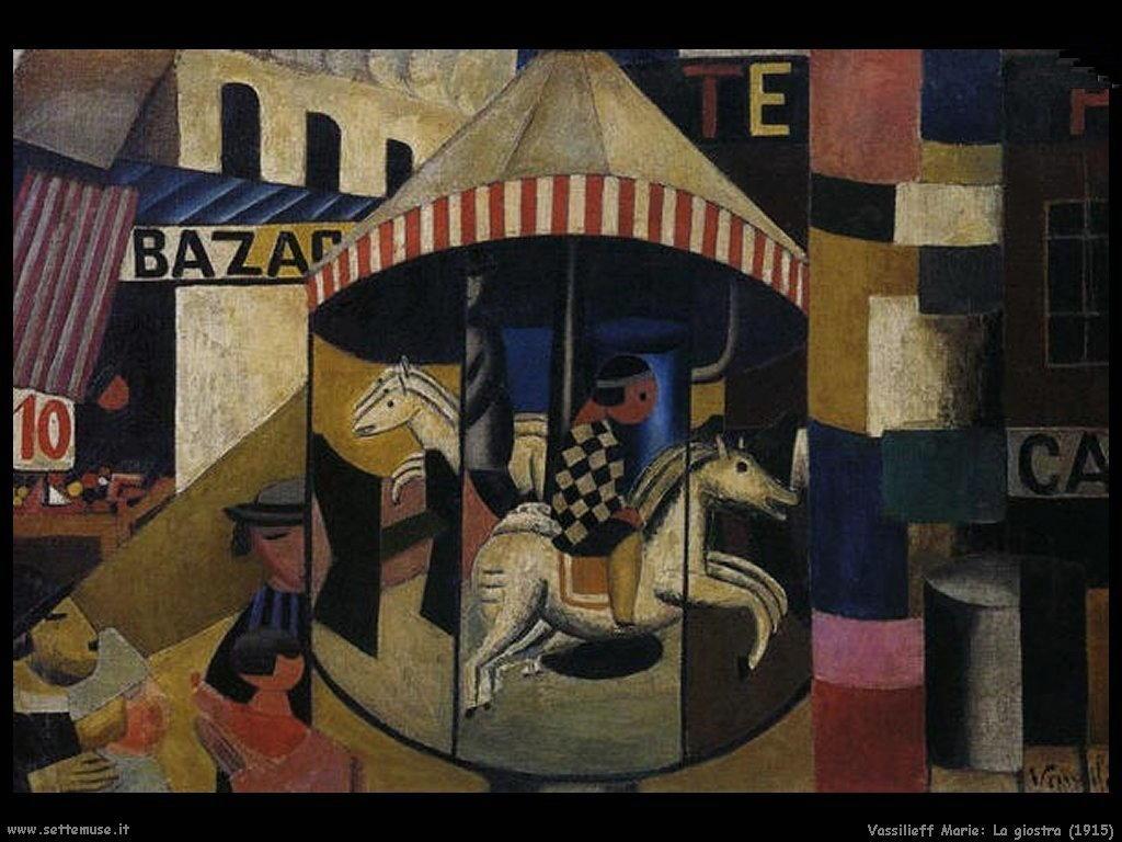 La giostra (1915) Vassilieff Marie