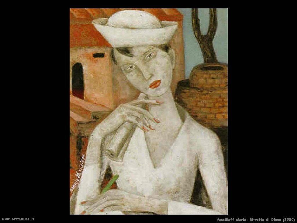 Ritratto di Diana (1930) Vassilieff Marie