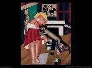Bambina con gatto (1915) Vassilieff Marie