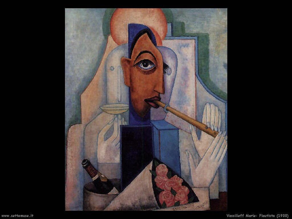 Il Flautista Vassilieff Marie