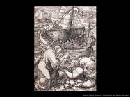 Vellert, Dirck Jacobsz Cristo salva san Pietro dal mare