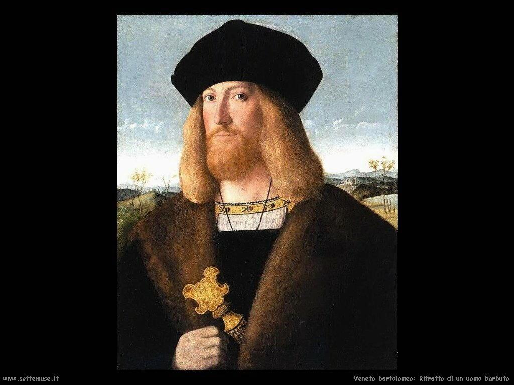 Ritratto di un gentiluomo barbuto Veneto Bartolomeo