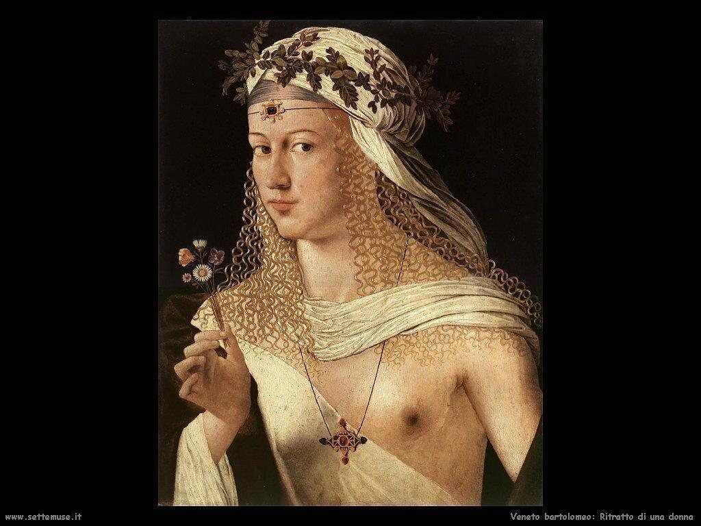 Ritratto di Donna Veneto Bartolomeo