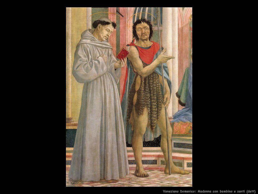 Madonna con Figlio e santi (particolare) Veneziano Domenico