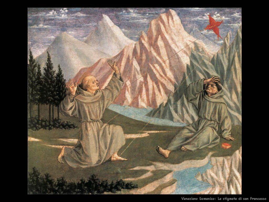 San Francesco riceve le stigmate Veneziano Domenico