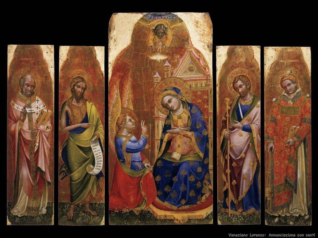 Annunciazione con Santi Veneziano Lorenzo