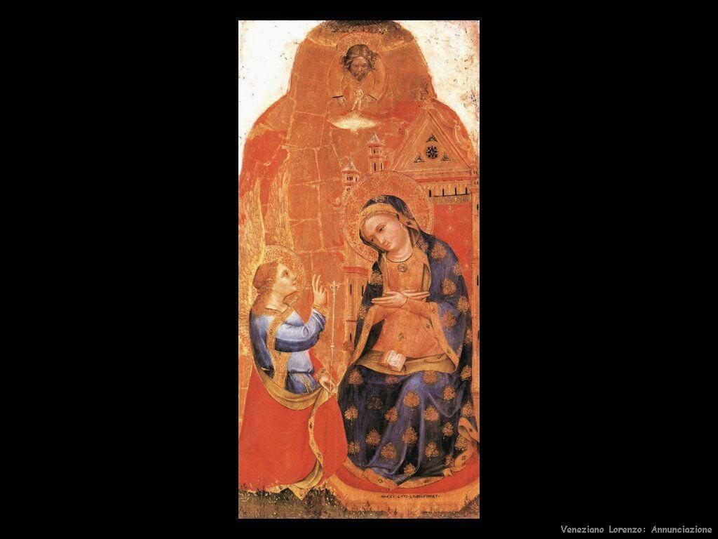 Annunciazione Veneziano Lorenzo