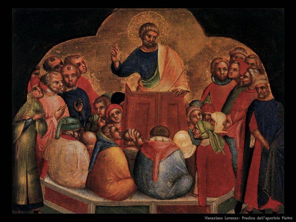La predicazione di San Pietro Veneziano Lorenzo