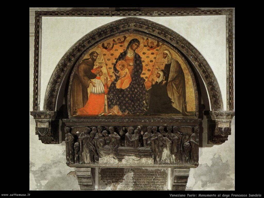 Monumento al Doge Francesco Dandolo Veneziano Paolo