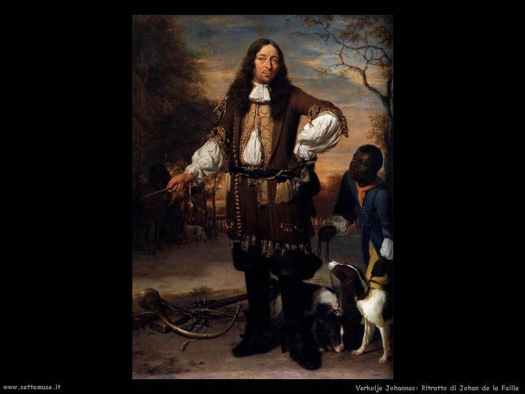 Ritratto di Johan De La Faille Verkolje Johannes