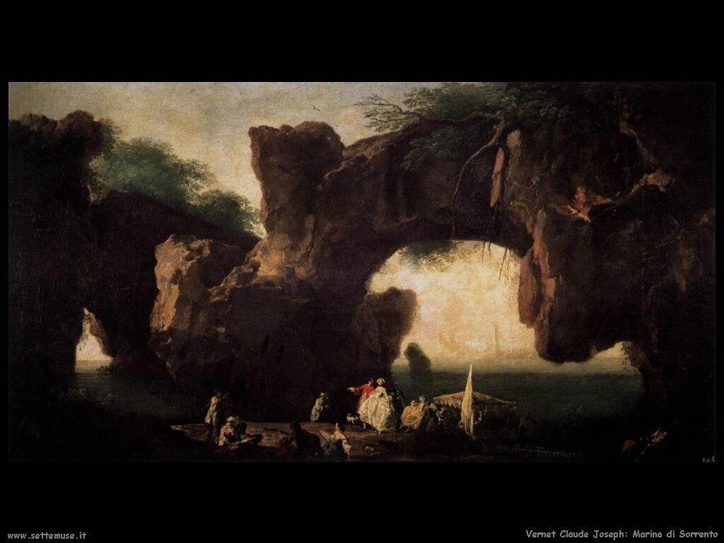 Panorama Marino visto da Sorrento Vernet Claude Joseph