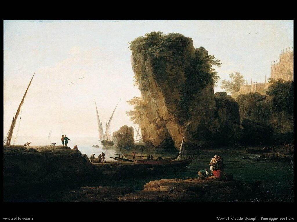 Paesaggio costiero Vernet Claude Joseph