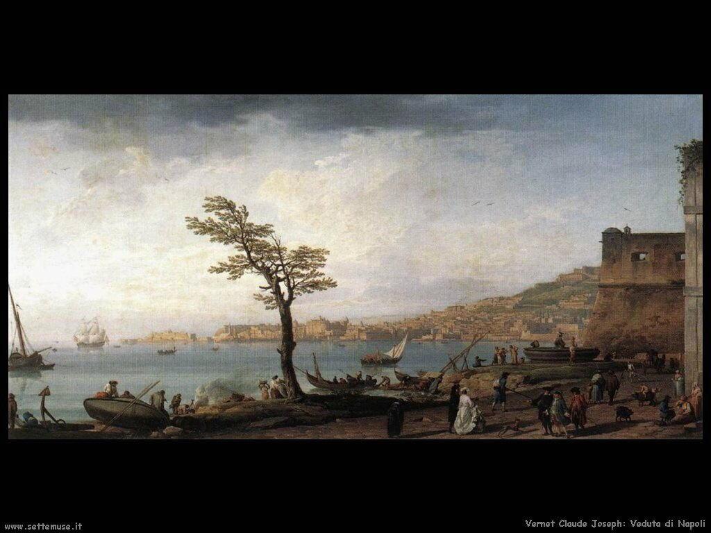Vista su Napoli Vernet Claude Joseph