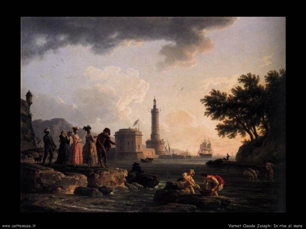 Un paesaggio marino Vernet Claude Joseph