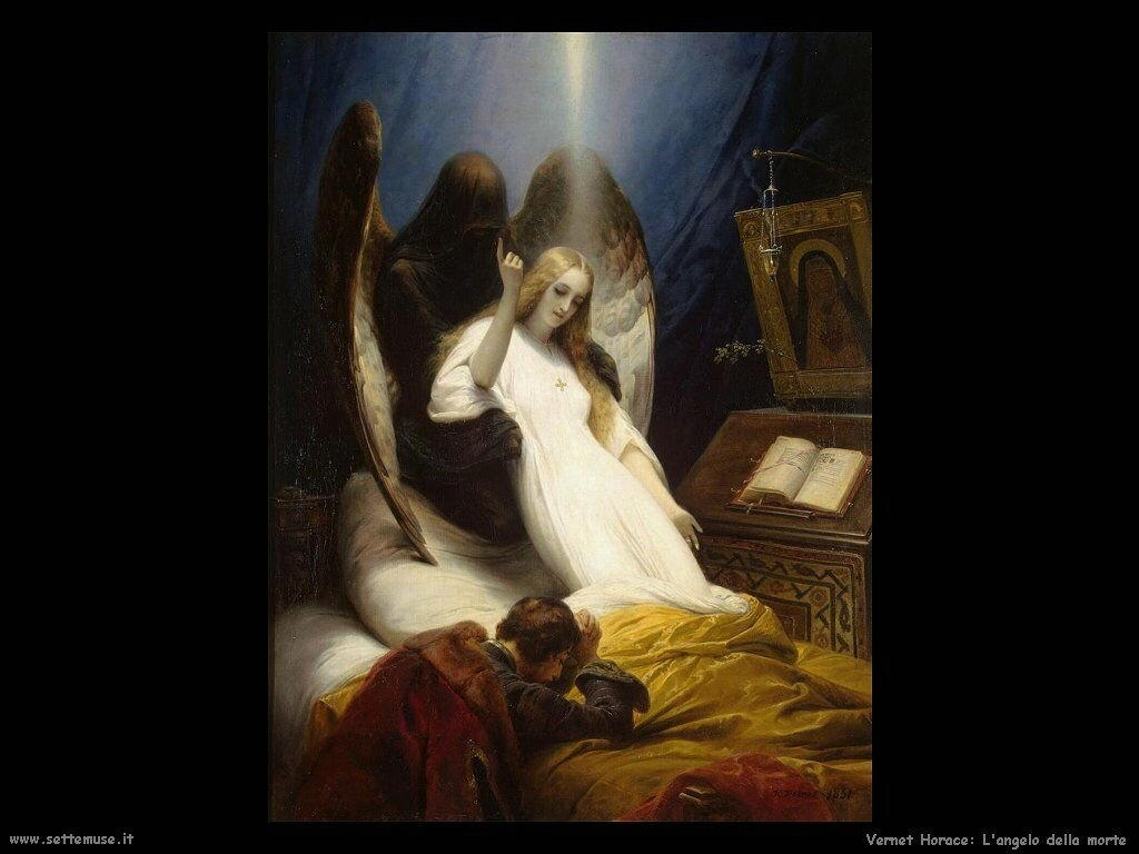 L'angelo della morte Vernet Horace