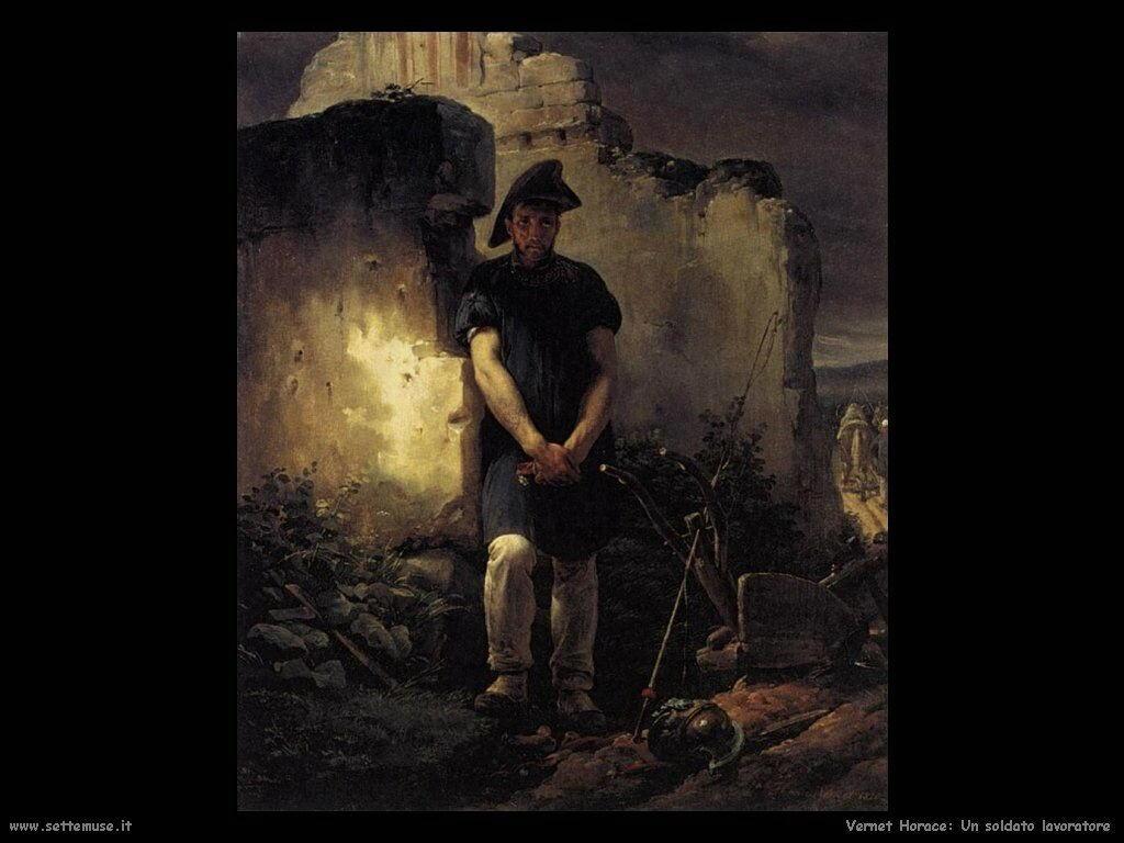 Soldato operaio Vernet Horace