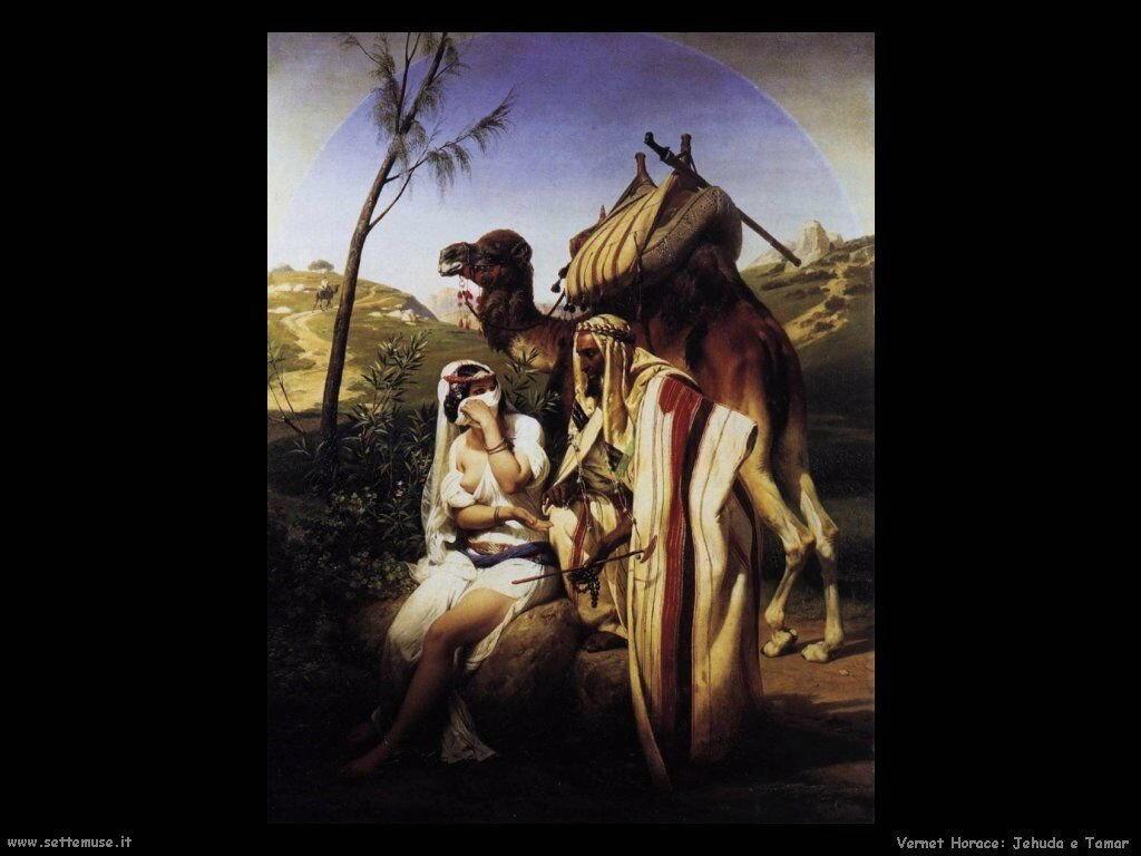 Jehuda e Tamar Vernet Horace