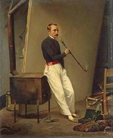 Dipinto di Vernet Horace