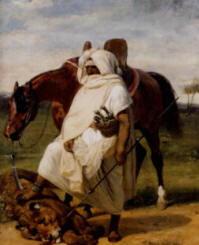 Pittura di Vernet Horace