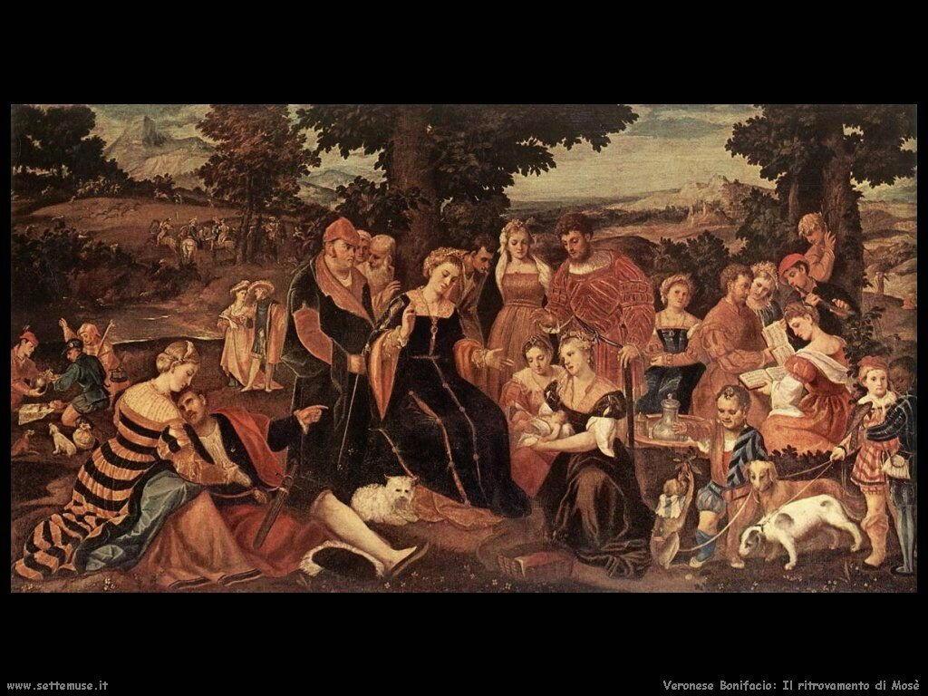 Il ritrovamento di Mosè Veronese Bonifacio