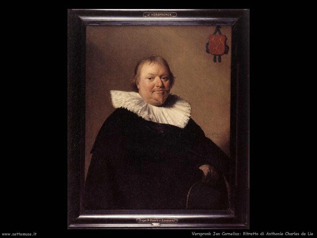 Ritratto di Antonio Carlo De Lie Verspronck Jan Cornelisz