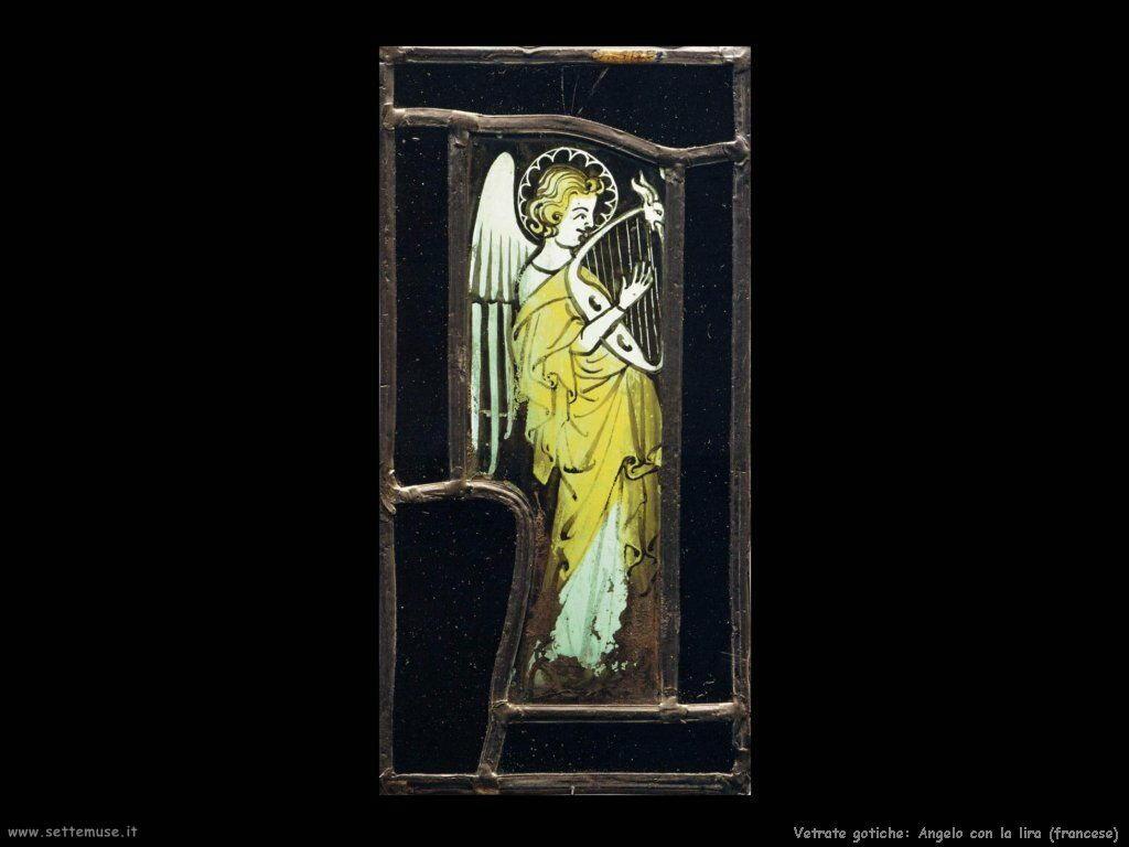vetro_501_Angelo con la lira (francese)