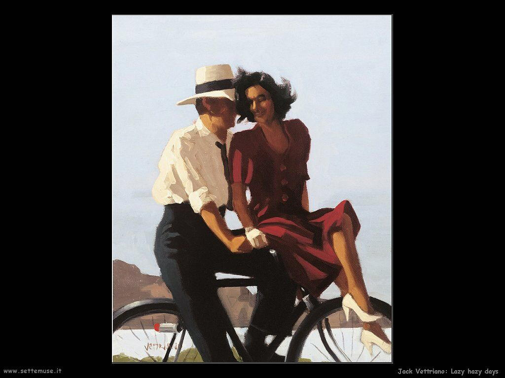 jack vettriano lazy hazy days