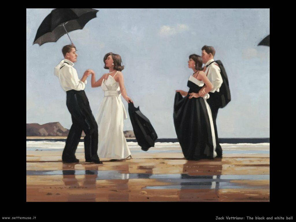 jack vettriano the black and white ball
