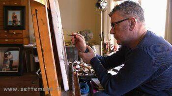 Jack Vettriano al lavoro