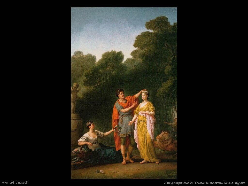 Amante incorona la sua donna Vien Joseph Marie