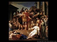 Marco Aurelio distribuisce il pane Vien Joseph Marie