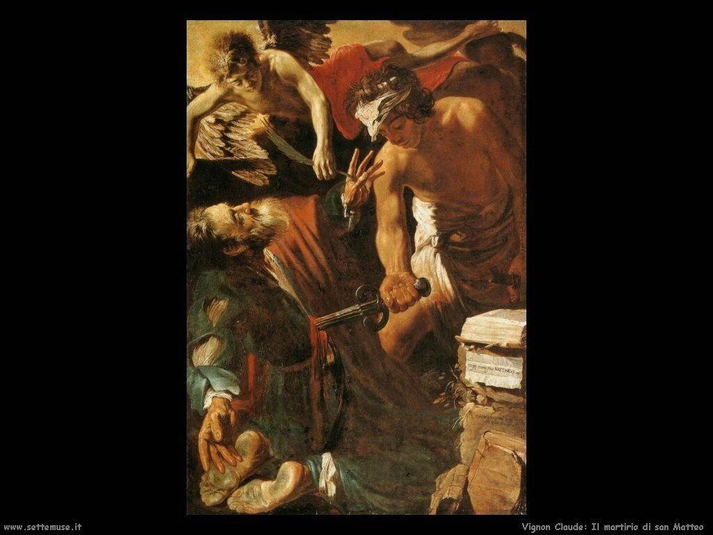 Il martirio di san Matteo Vignon Claude