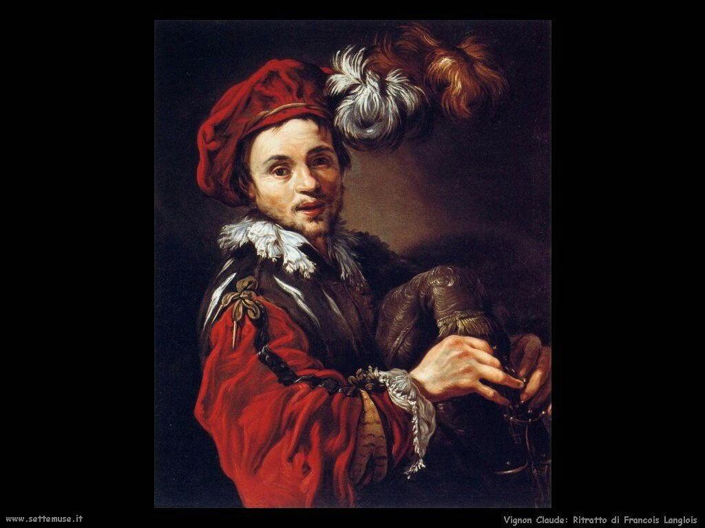 Ritratto di Francesco Langlois Vignon Claude