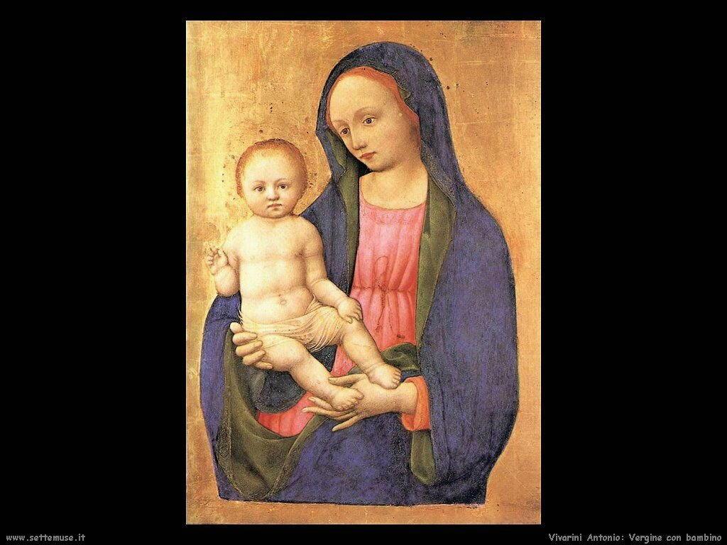 Vergine e Bambino Vivarini Antonio