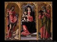 Vergine con Bambino, Giovanni Battista e Andrea Vivarini Bartolomeo