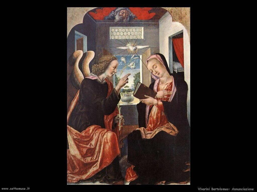 Annunciazione Vivarini Bartolomeo